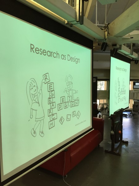 "The second class of ""Research as Design"" begins. The class explores the application of design thinking in complex research. (Emi Kolawole)"