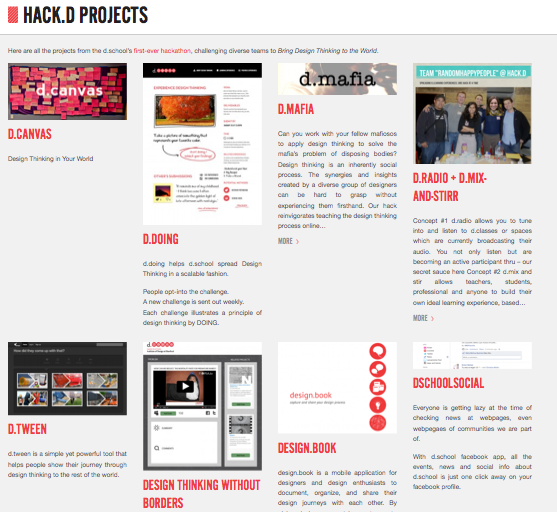 HACK.d Projects Posted
