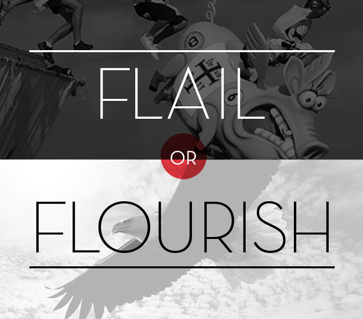 Flail or Flourish: The SuperPower of Resilience