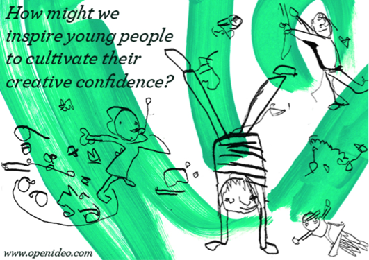 d.school-Open IDEO Partnership: Unlocking Creative Confidence in Young People
