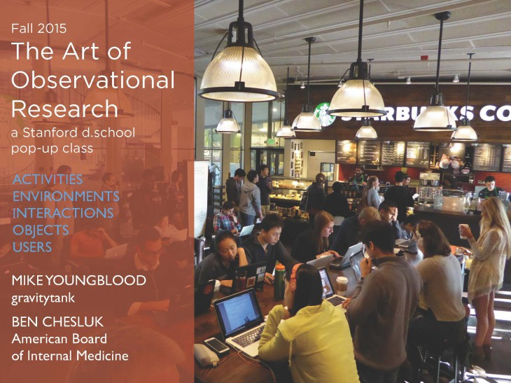 The Art of Observational Research
